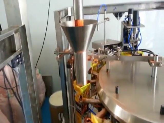 Automatische vorgefertigte Beutelverpackungsmaschine für Gewürzpulver