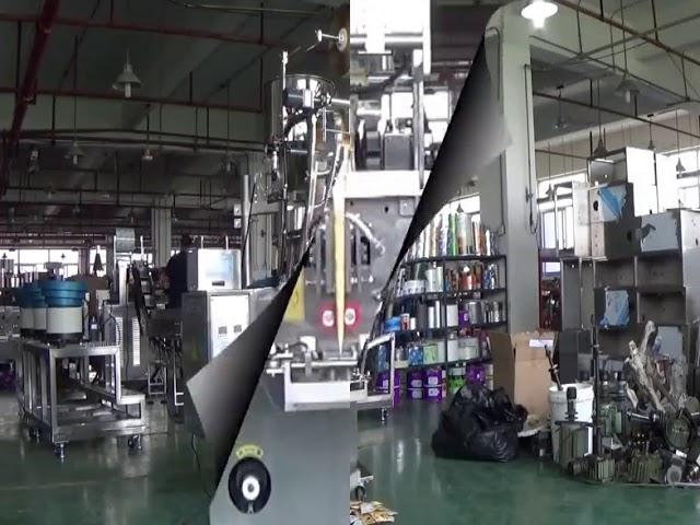 Automatische vertikale Beutel-Reisbohnen-Ballverpackungsmaschine