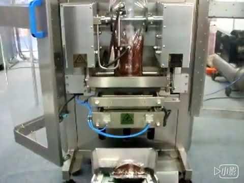 Honey Liquid Sachet Verpackungsmaschine / Wasser Beutel Ketchup Verpackungsmaschine Preis