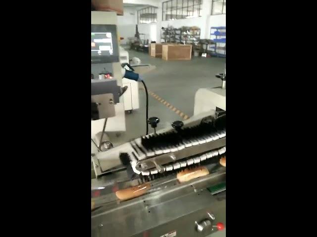Horizontale Verpackungsmaschine für manuelle Beutel