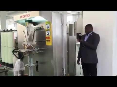 Automatische vertikale kleine Plastikbeutel-Beutel-flüssige Beutel-Verpackungsmaschine
