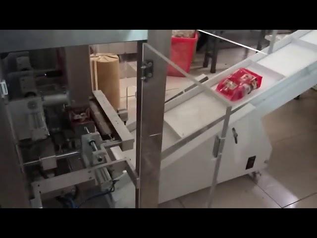 Pulver Vertikale Umhüllung Füllung Versiegelung Verpackungsmaschine Schneckenfüllmaschine