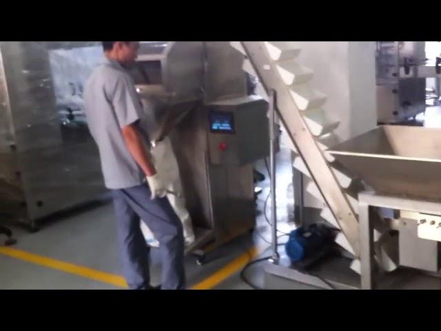 Halbautomatische Sachet Reis-Granulat-Verpackungsmaschine