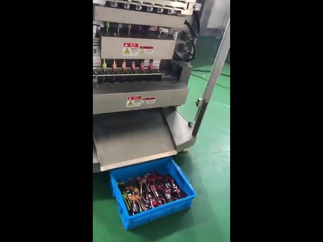 Erstklassige High-End-Weißzucker-Milchpulver-Stick-Beutelpackung mit mehreren Linien Beutel-Verpackungsmaschine