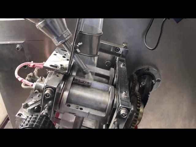 Horizontale Doppelbeutel-Pulver-Verpackungsmaschine mit PLC-Steuerung