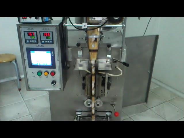 Vertikale Schlauchbeutelverpackungsmaschine mit Splint-Rückenverschluss