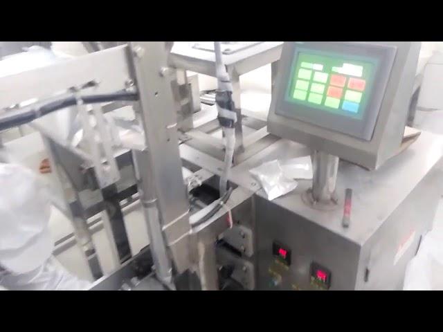 Vertikale Pulver-Beutelfüllmaschine für Pulver im kleinen Maßstab